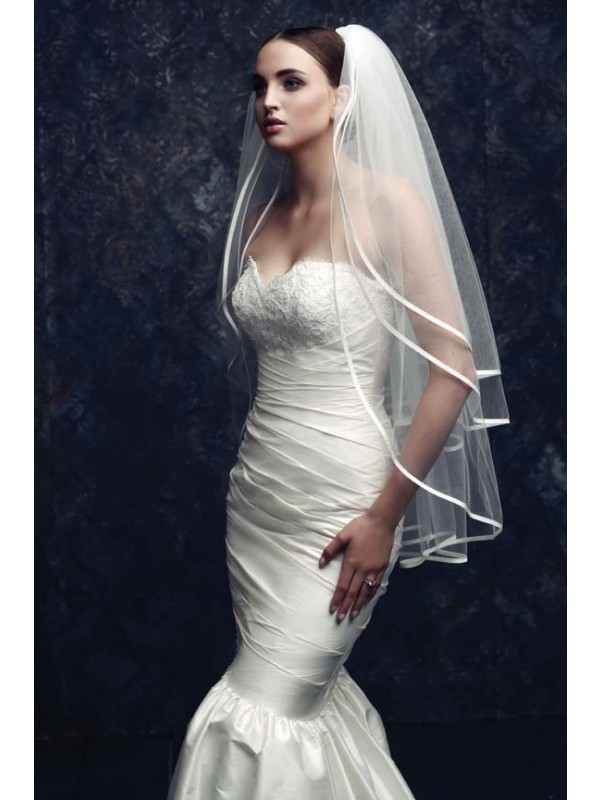 Women's Gorgeous 3 Layer Tulle Wedding Veils