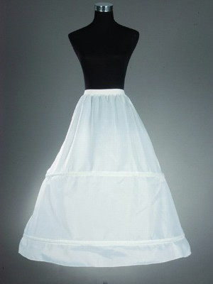 Women's Nylon A-Line 1 Tier Floor Length Slip Style/Wedding Petticoats