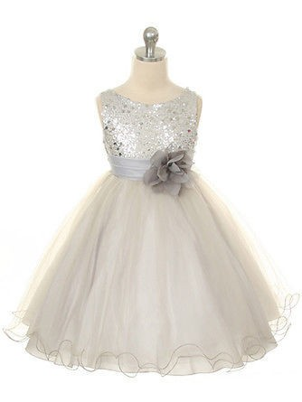 Chicregina Long Ball Gown Jewel Sleeveless Organza Communion Dress